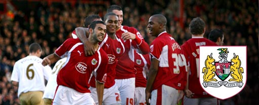 An image of some of the Bristol City players.
